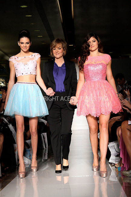 WWW.ACEPIXS.COM....September 7 2012, New York City....TV personalities Kylie and Kendall Jenner walked the runway at the Evening Sherri Hill spring 2013 fashion show during Mercedes-Benz Fashion Week at Trump Tower Grand Corridor on September 7, 2012 in New York City.......By Line: Nancy Rivera/ACE Pictures......ACE Pictures, Inc...tel: 646 769 0430..Email: info@acepixs.com..www.acepixs.com