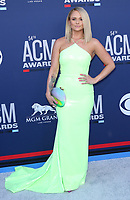 07 April 2019 - Las Vegas, NV - Miranda Lambert. 54th Annual ACM Awards Arrivals at MGM Grand Garden Arena. Photo Credit: MJT/AdMedia<br /> CAP/ADM/MJT<br /> &copy; MJT/ADM/Capital Pictures