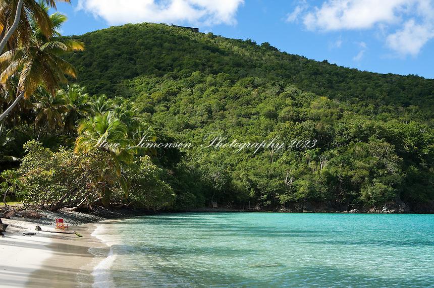 Big Maho Bay beach<br /> Virgin Islands National Park<br /> St. John, U.S. Virgin Islands