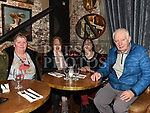 Catherine McCabe, Madeline Tinney, Phyllis McCabe and Peter Callaghan at the party to celebrate the third birthday of Louth Family  Carers Support Group in The d Hotel. Photo:Colin Bell/pressphotos.ie