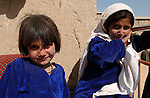 Paghman, Afghanistan; October 24, 2002 -- Children, girls from rural area; People, Portrait -- Photo: © HorstWagner.eu