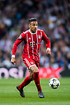 Corentin Tolisso of FC Bayern Munich in action during the UEFA Champions League Semi-final 2nd leg match between Real Madrid and Bayern Munich at the Estadio Santiago Bernabeu on May 01 2018 in Madrid, Spain. Photo by Diego Souto / Power Sport Images
