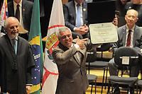 SÃO PAULO,SP,18.12.2018 - DIPLOMAÇÃO-SP - Coronel Telhada (PP)   durante cerimonia de diplomação dos candidatos eleitos para assumir o cargo em janeiro 2019. A cerimonia foi realizada na sala Sao Paulo nesta terça-feira, 18. (Foto Dorival Rosa/Brazil Photo Press)