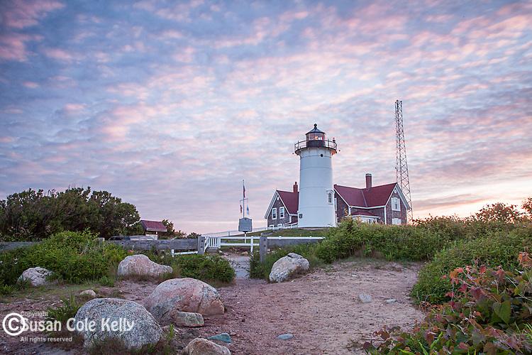Nobska Light, Falmouth, Cape Cod, Massachusetts, USA