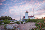 Nobska Light, Falmouth, Cape Cod, Massachusetts, USA