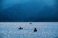 Lake Atitlan (Lago de Atitlan), Western Highlands, Guatemala