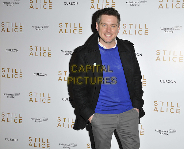 LONDON, ENGLAND - FEBRUARY 05: Richard McCourt attends the &quot;Still Alice&quot; VIP film screening, Curzon Mayfair cinema, Curzon St., on Thursday February 05, 2015 in London, England, UK. <br /> CAP/CAN<br /> &copy;CAN/Capital Pictures