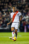 Oscar Guido Trejo, M L S Trejo, of Rayo Vallecano in action during the La Liga 2018-19 match between Rayo Vallecano and FC Barcelona at Estadio de Vallecas, on November 03 2018 in Madrid, Spain. Photo by Diego Gouto / Power Sport Images