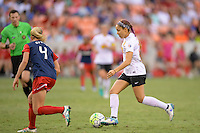 Houston, TX - Sunday Oct. 09, 2016: Jaelene Hinkle during a National Women's Soccer League (NWSL) Championship match between the Washington Spirit and the Western New York Flash at BBVA Compass Stadium. The Western New York Flash win 3-2 on penalty kicks after playing to a 2-2 tie.