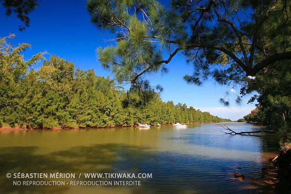Rivière La Coulée, Mont-Dore, Nouvelle-Calédonie