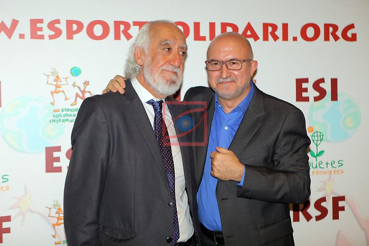 XIV Sopar Solidari de Nadal.<br /> Esport Solidari Internacional-ESI.<br /> Josep Maldonado & Sergi Mas.