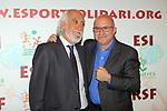 XIV Sopar Solidari de Nadal.<br /> Esport Solidari Internacional-ESI.<br /> Josep Maldonado &amp; Sergi Mas.