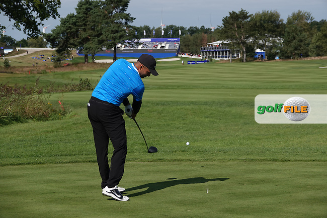 Julian Suri (USA) in action during the second round of the Porsche European Open , Green Eagle Golf Club, Hamburg, Germany. 06/09/2019<br /> Picture: Golffile   Phil Inglis<br /> <br /> <br /> All photo usage must carry mandatory copyright credit (© Golffile   Phil Inglis)
