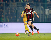 Riccardo Monteolivo   during   Italian Serie A soccer match between Frosinone and AC Milan  at Matusa  Stadium in Frosinone ,December 20  , 2015