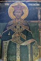 BG61220.JPG BULGARIA, BLACK SEA COAST, NESSEBAR, CHURCH OF ST STEPHAN, 10TH CENTURY, FRESCOS
