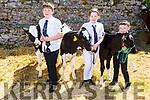 Michael, Aoibhinn and Daithi Allen from Firies at the Kingdom County Fair on Sunday.
