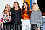 Aoife Murphy, Norella Mansfield, Laura Fitzgerald and Ciara Fitzgerald, attending Sickly Come Dancing, UHK, at Ballygarry House Hotel & Spa, Tralee on Friday night last.