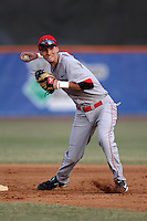 March 9, 2010:  Shortstop Josh Colon of the Illinois State Redbirds during a game at McKethan Stadium in Gainesville, FL.  Photo By Mike Janes/Four Seam Images