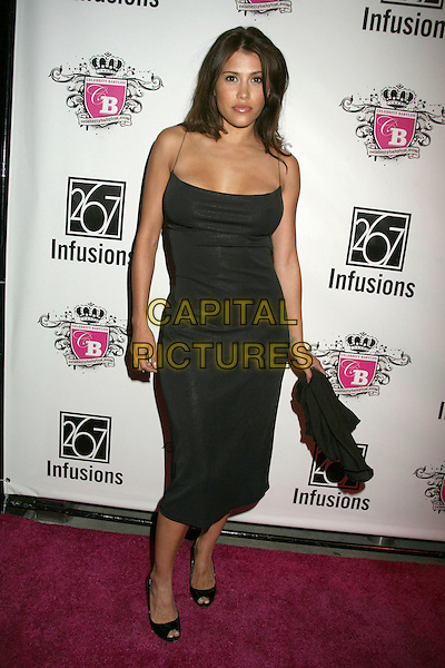 RACHEL STERLING.Anna Nicole Smith Tribute at HERE Lounge, West Hollywood, California, USA..April 24th, 2007.full length black dress .CAP/ADM/BP.©Byron Purvis/AdMedia/Capital Pictures