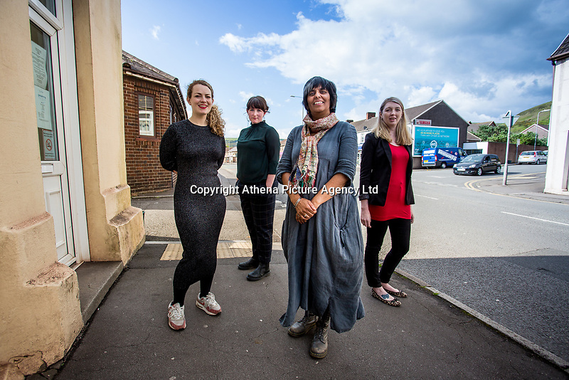 Pictured: Monday 01 May 2017<br />Re: National Theatre Wales We're Still Here launch event at The Somerset Arms (The Sker), Port Talbot, Wales, UK