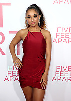 07 March 2019 - Westwood, California - Trina LaFargue. &quot;Five Feet Apart&quot; Los Angeles Premiere held at the Fox Bruin Theatre. <br /> CAP/ADM/FS<br /> &copy;FS/ADM/Capital Pictures