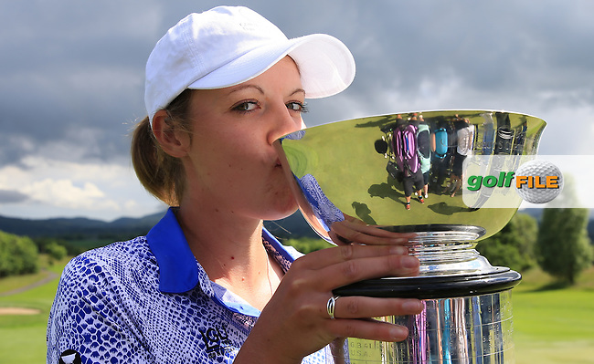 The winning GB&amp;I point was won by Meghan MacLaren during the Sunday Singles at the 2016 Curtis Cup, played at Dun Laoghaire GC, Enniskerry, Co Wicklow, Ireland. 12/06/2016. Picture: David Lloyd | Golffile. <br /> <br /> All photo usage must display a mandatory copyright credit to &copy; Golffile | David Lloyd.