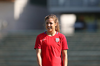 Cary, NC - Saturday October 21, 2017: Sofia Huerta during a United States (USA) Women's National Team training session at Sahlen's Stadium at WakeMed Soccer Park.