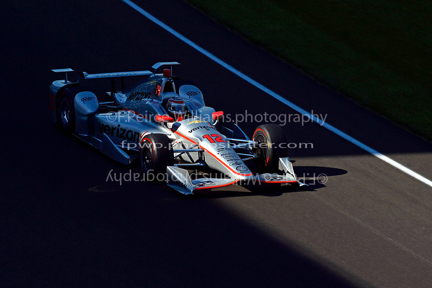 Verizon IndyCar Series<br /> Indianapolis 500 Practice<br /> Indianapolis Motor Speedway, Indianapolis, IN USA<br /> Monday 15 May 2017<br /> Will Power, Team Penske Chevrolet<br /> World Copyright: F. Peirce Williams