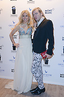 "Hofit Golan and Christophe Guillarme attending the Montblanc ""Trashed"" party at Carre GREY GOOSE in the Jardin du Grand Hotel during the 65th annual International Cannes Film Festival in Cannes, France, 22.05.2012...Credit: Timm/face to face /MediaPunch Inc. ***FOR USA ONLY***"