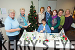 A CRAFTY LOT: Handmade Christmas decorations were all part of the fun at Listowel FRC on Thursday. Pictured were: Violet Puttock, Ella O'Sullivan, Noreen Evoy, Pricilla Sweeney, Karina O'Driscoll, Margaret O'Driscoll, Mary Corridan and Maria Scollard.
