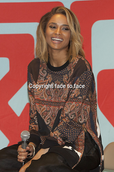 NEW YORK, NY - JULY 9: Ciara at J&amp;R Music promoting her new album 'Ciara' on July 9, 2013 in New York City.<br />