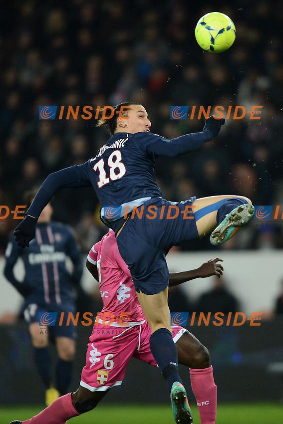 Zlatan IBRAHIMOVIC (psg) .Parigi 8/12/2012 .Football Calcio 2012/2013 Ligue 1.Psg Vs Evian.Foto Anthony BIBARD / FEP/ Panoramic / Insidefoto.ITALY ONLY
