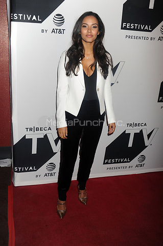 NEW YORK, NY - SEPTEMBER 23: Jessica Lucas  attends 'Gotham' sneak peek during Tribeca TV Festival at Cinepolis Chelsea on September 23, 2017 in New York City <br /> <br /> People:  Jessica Lucas<br /> <br /> Transmission Ref:  MNC1<br /> <br /> MPI122 / MediaPunch