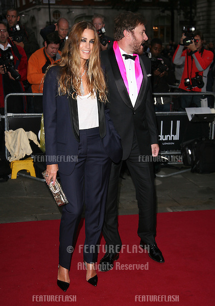 Yasmin and Simon Le Bon arriving for the 2011 GQ Awards, Royal Opera House, London. 06/09/2011  Picture by: Alexandra Glen / Featureflash