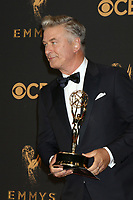 LOS ANGELES - SEP 17:  Alec Baldwin at the 69th Primetime Emmy Awards - Press Room at the JW Marriott Gold Ballroom on September 17, 2017 in Los Angeles, CA