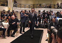 """BEVERLY HILLS - MAY 22: Manny Pacquiao attends a press conference in Beverly Hills for the Premier Boxing Champions on FOX Sports Pay-Per-View fight against Keith """"One Time"""" Thurman on July 20 in Las Vegas. (Photo by Frank Micelotta/Fox Sports/PictureGroup)"""