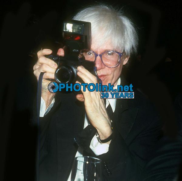 #AndyWarhol 1982<br /> Photo By John Barrett/PHOTOlink.net