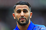 Riyadh Mahrez of Leicester City during the Premier League match at Old Trafford Stadium, Manchester. Picture date: September 24th, 2016. Pic Sportimage
