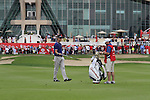 Martin Kaymer after playing his 3rd shot on the 9th hole during Day 2 Friday of the Abu Dhabi HSBC Golf Championship, 21st January 2011..(Picture Eoin Clarke/www.golffile.ie)
