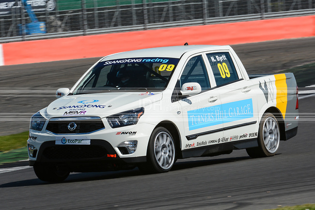 Natalie Byrtt - SsangYong Racing Challenge