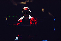 Montreal, CANADA - FILE - Tangerine Dream perform at Place-des-arts, near 1986-1987.<br /> <br /> Its leader Edgar Wilmar Froese just passed away January 20, 2015 in Vienna, Austria.