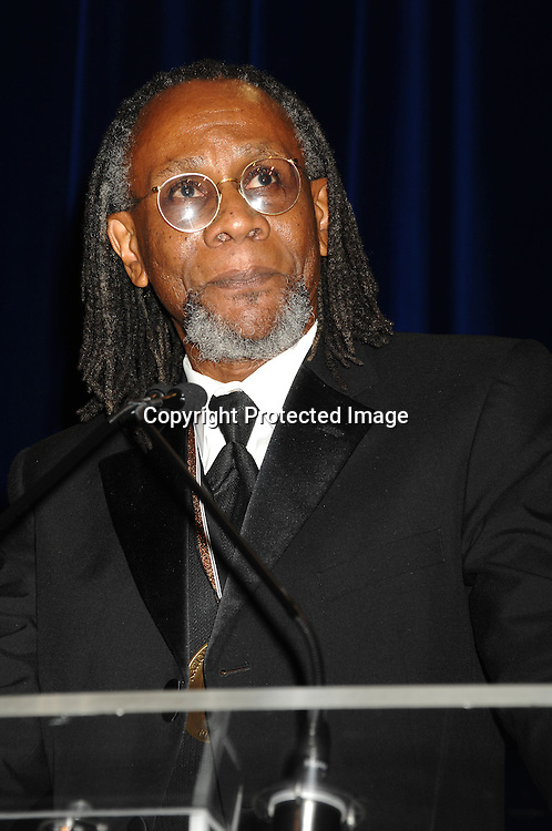 Poetry winner Nathaniel Mackey..at The National Book Awards Gala on November 15, 2006 ..at The Marriott Marquis Hotel in New York City...Photo by Robin Platzer, Twin Images