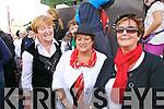 At the Chaplin Festival in Waterville on Thursday were l-r; Doreen Walsh, Ann Murphy & Noreen Foster.