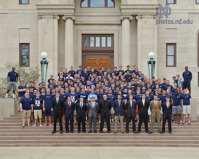 May 2, 2013; Keough Hall 2012-2013..Photo by Matt Cashore/University of Notre Dame