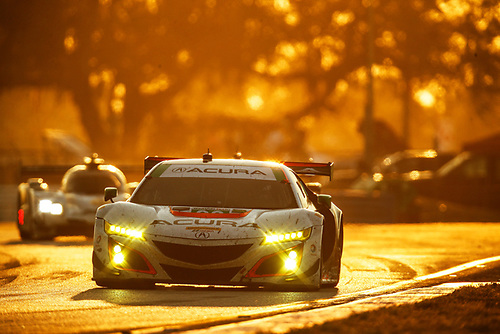2017 IMSA WeatherTech SportsCar Championship<br /> Mobil 1 Twelve Hours of Sebring<br /> Sebring International Raceway, Sebring, FL USA<br /> Saturday 18 March 2017<br /> 93, Acura, Acura NSX, GTD, Andy Lally, Katherine Legge, Mark Wilkins<br /> World Copyright: Michael L. Levitt/LAT Images<br /> ref: Digital Image levitt_seb_0317-28996