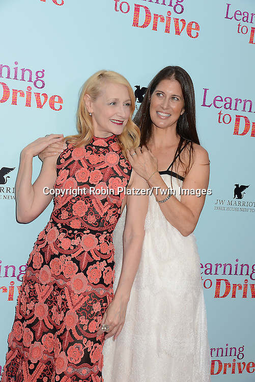 Patricia Clarkson and Dana Friedman attend the NewYork VIP Premiere of &quot;Learning to Drive&quot;<br /> on August 17, 2015 at The Paris Theatre in New York City, New York, USA. <br /> <br /> photo by Robin Platzer/Twin Images<br />  <br /> phone number 212-935-0770