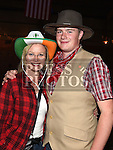 Michael Anderson and Tara Mullarkey at the Oberstown Farm barn dance. Photo:Colin Bell/pressphotos.ie