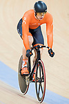 Harrie Lavreysen of the Netherlands team competes in the Men's Sprint - 1/8 Finals as part of the Men's Sprint - 1/8 Finals as part of the 2017 UCI Track Cycling World Championships on 14 April 2017, in Hong Kong Velodrome, Hong Kong, China. Photo by Chris Wong / Power Sport Images