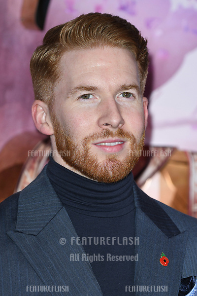 """LONDON, UK. November 01, 2018: Neil Jones at the European premiere of """"The Nutcracker and the Four Realms"""" at the Vue Westfield, White City, London.<br /> Picture: Steve Vas/Featureflash"""