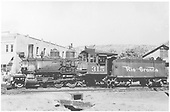 Fireman's-side view of D&amp;RGW #315 switching in yard.<br /> D&amp;RGW